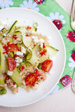 Healthy salad with quinoa Stock Image