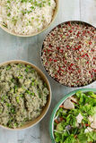 Healthy salad selection Royalty Free Stock Photo