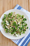 Healthy Salad with Spelt Stock Photography