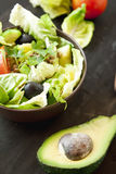 Healthy Salad with Vegetables Royalty Free Stock Images