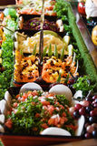 Healthy salads Royalty Free Stock Images