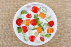 Healthy salads stock photos