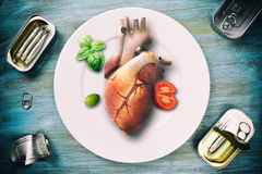 Healthy and saludable diet Royalty Free Stock Photography
