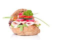 A healthy sandwich Royalty Free Stock Photo
