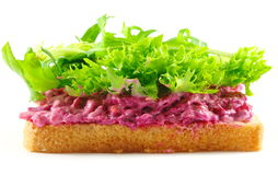 Healthy sandwich Royalty Free Stock Photography