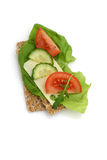 Healthy sandwich stock image