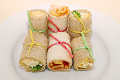 Healthy Sandwich Rolls Stock Images