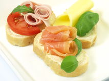 Healthy sandwich for your diet Stock Images