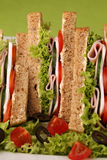 Healthy sandwiches Stock Photography