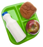 Healthy School Lunch Stock Images