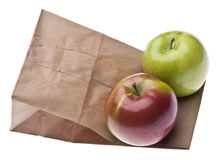 Healthy School Lunch Royalty Free Stock Photography
