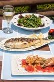 Healthy seafood Stock Image