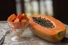 Healthy seasonal fruit with a high energy content stock photography