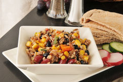 Healthy Sedona Salad Royalty Free Stock Images