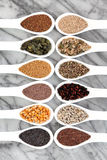 Healthy Seed Selection Stock Photography