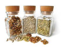 Healthy seeds Royalty Free Stock Photos