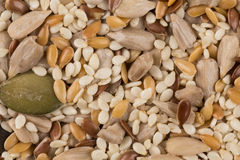 Healthy seeds mix Royalty Free Stock Photo