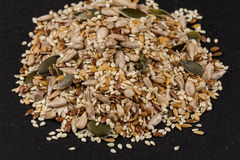 Healthy seeds mix Royalty Free Stock Photography