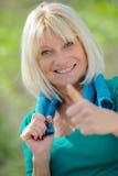 Healthy Senior happy Stock Photography