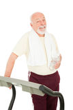 Healthy Senior Man Stock Image