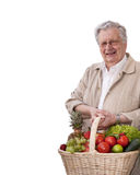 Healthy senior man Stock Photo