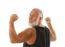 Healthy senior man Stock Photos