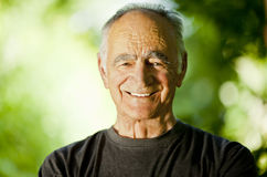 Healthy Senior Man Royalty Free Stock Image