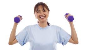 Healthy Senior Woman Royalty Free Stock Image