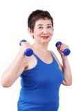 Healthy Senior Woman Stock Photography