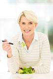 Healthy senior woman Royalty Free Stock Photography
