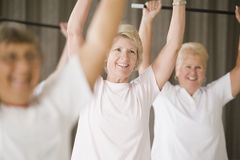 Healthy senior women Royalty Free Stock Photography