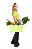 Healthy Shopper Stock Photography