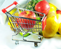 Healthy shopping Stock Photo
