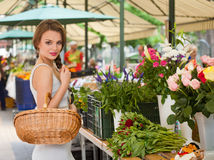 Healthy shopping. Stock Images