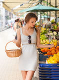 Healthy shopping. Royalty Free Stock Photography