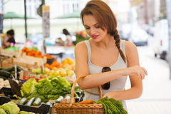 Healthy shopping. Royalty Free Stock Photos