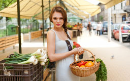 Healthy shopping. Stock Photography