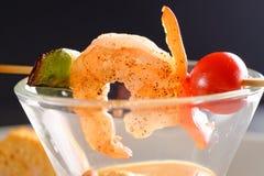 Healthy Shrimp cocktail salad Royalty Free Stock Image