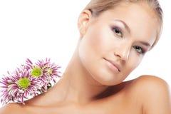 Healthy skin Stock Image