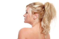 Healthy skin royalty free stock photo