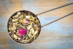 Healthy skin  herbal tea Royalty Free Stock Photography