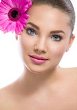 Healthy skin of young beautiful woman Royalty Free Stock Image