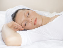 Healthy sleep Royalty Free Stock Photography