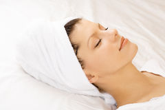 Healthy sleep Stock Photography