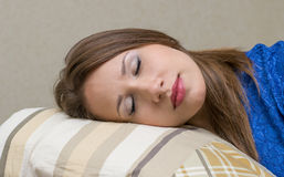 Healthy sleep Stock Photo