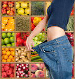 Healthy sliming diet b Royalty Free Stock Photos