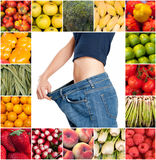 Healthy sliming diet royalty free stock photos