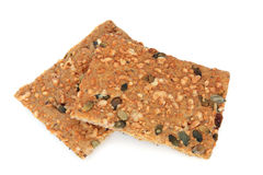 Healthy Slimming Cracker Biscuits Stock Photo