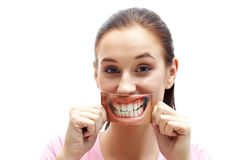 Healthy smile Stock Photography