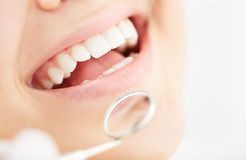 Healthy smile Royalty Free Stock Image